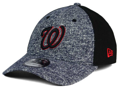 Washington Nationals New Era MLB Team Color Tech Fuse 39THIRTY Cap