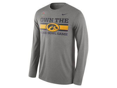 Iowa Hawkeyes Nike NCAA 2016 Bowl Bound Own The Long Sleeve T-Shirt