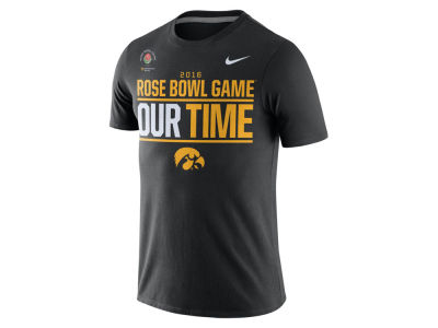 Iowa Hawkeyes Nike NCAA 2016 Bowl Bound Our Time T-Shirt