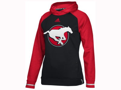 Calgary Stampeders adidas CFL Women's Pop Over Hoodie