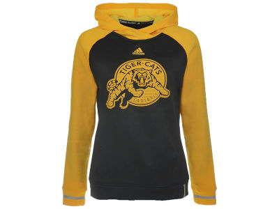 Hamilton Tiger-Cats adidas CFL Women's Pop Over Hoodie
