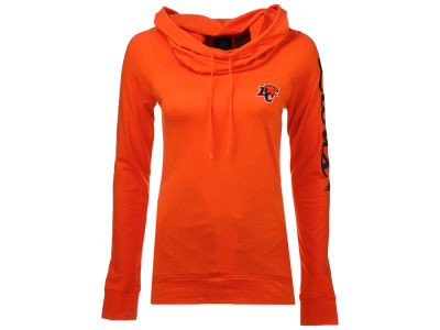 BC Lions adidas CFL Women's Funnel Neck Long Sleeve Sweatshirt