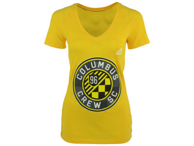 Columbus Crew SC adidas MLS Women's Pearlized Pattern T-Shirt