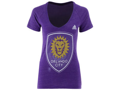 Orlando City SC adidas MLS Women's Pearlized Pattern T-Shirt