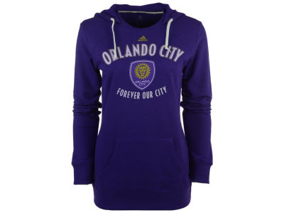 Orlando City SC adidas MLS Women's Arched Gel Hoodie