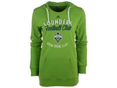 Seattle Sounders FC adidas MLS Women's Arched Gel Hoodie
