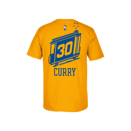 Golden State Warriors Stephen Curry NBA Youth Hardwood Classic Player T-Shirt