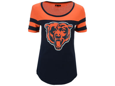 Chicago Bears 5th & Ocean NFL Women's Limited Edition Rhinestone T-Shirt