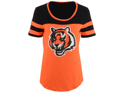 Cincinnati Bengals 5th & Ocean NFL Women's Limited Edition Rhinestone T-Shirt