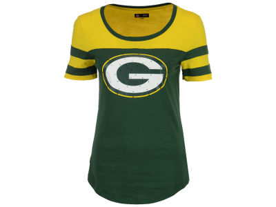 Green Bay Packers 5th & Ocean NFL Women's Limited Edition Rhinestone T-Shirt