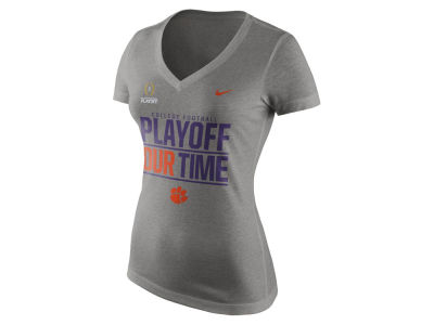 Clemson Tigers Nike NCAA 2016 Womens Bowl Bound T-Shirt