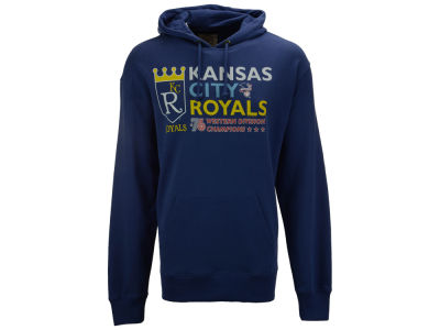 Kansas City Royals '47 MLB Men's Crosstown Striker Bic Hoodie