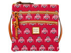 Ohio State Buckeyes Dooney & Bourke Dooney & Bourke Triple Zip Crossbody Bag Luggage, Backpacks & Bags