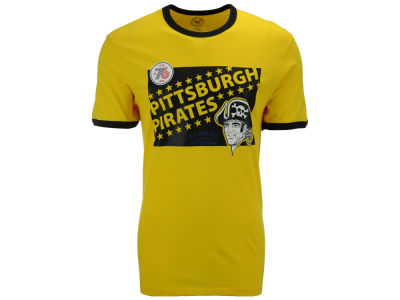 Pittsburgh Pirates '47 MLB Men's Archive Ringer Bicentennial T-Shirt
