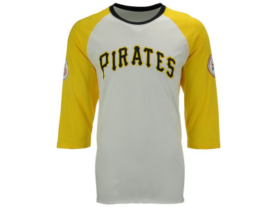Pittsburgh Pirates '47 MLB Men's Veterans Bicentennial Raglan Shirt