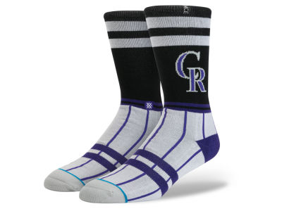 Colorado Rockies Stance MLB Diamond Collection Socks