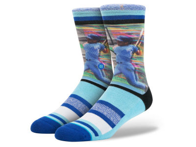 Kansas City Royals George Brett Stance MLB Legends Socks