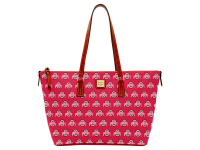Ohio State Buckeyes Dooney & Bourke Zip Top Shopper