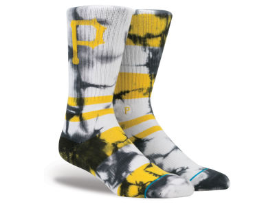Pittsburgh Pirates Stance MLB Tye Dye Crew Socks