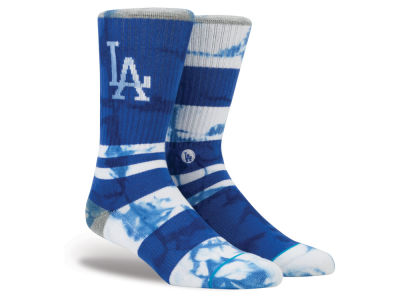 Los Angeles Dodgers MLB Tye Dye Crew Socks