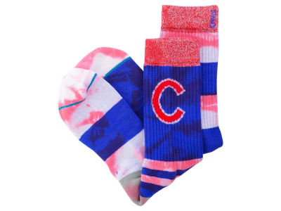 Chicago Cubs MLB Tye Dye Crew Socks