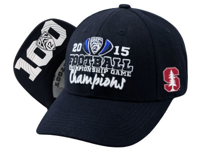 Stanford Cardinal Top of the World NCAA 2015 PAC12 Football Champs Cap