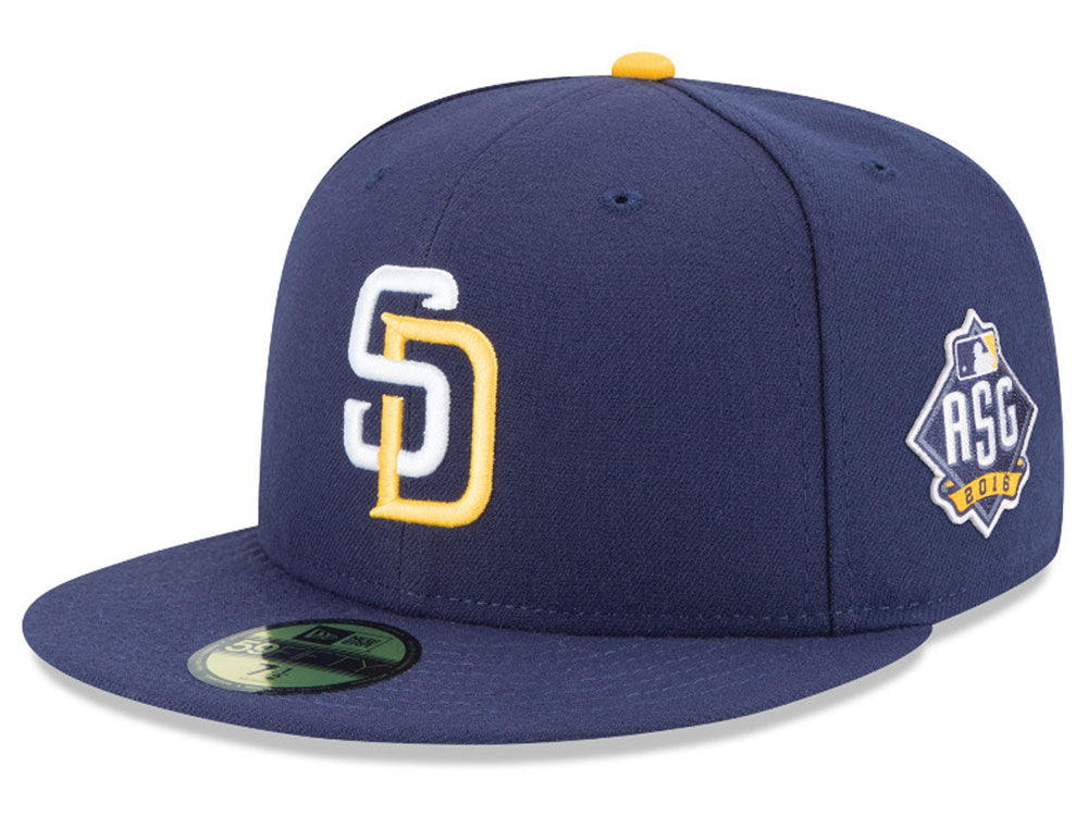 best service feb00 afb7e spain san diego padres new era mlb 2016 san diego all star game patch 59fifty  cap