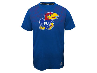 Kansas Jayhawks adidas NCAA Youth Surface Climalite T-Shirt