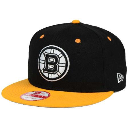 Boston Bruins New Era NHL Black White Team Color 9FIFTY Snapback Cap