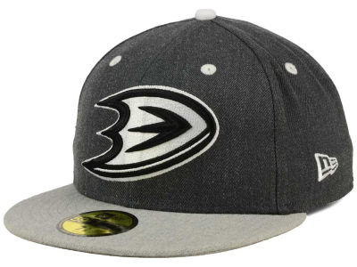 Anaheim Ducks New Era NHL Graph on Heather 59FIFTY Cap