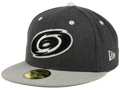 Carolina Hurricanes New Era NHL Graph on Heather 59FIFTY Cap