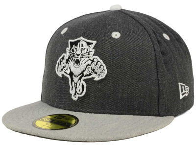 Florida Panthers New Era NHL Graph on Heather 59FIFTY Cap