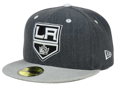 Los Angeles Kings New Era NHL Graph on Heather 59FIFTY Cap