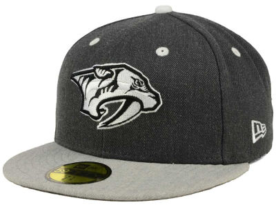 Nashville Predators New Era NHL Graph on Heather 59FIFTY Cap