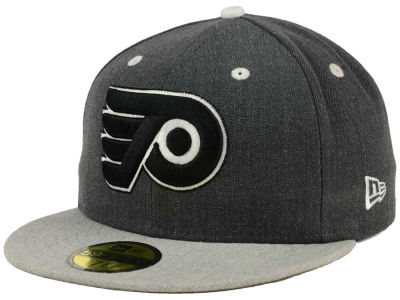 Philadelphia Flyers New Era NHL Graph on Heather 59FIFTY Cap