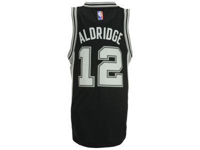 San Antonio Spurs LaMarcus Aldridge adidas NBA Youth New Swingman Jersey