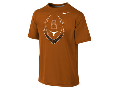 Texas Longhorns NCAA Youth Legend Football Icon T-Shirt
