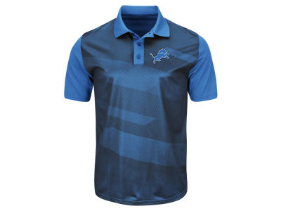 Detroit Lions Majestic NFL Men's Club Seat Polo Shirt