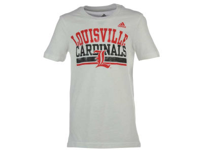 Louisville Cardinals adidas NCAA Youth Girls Collegiate Weathering T-Shirt