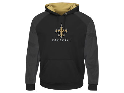 New Orleans Saints Majestic NFL Men's Armor II Hoodie