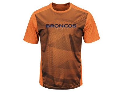 Denver Broncos Majestic NFL Men's Gridiron Synthetic T-Shirt