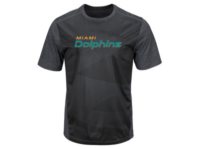 Miami Dolphins Majestic NFL Men's Gridiron Synthetic T-Shirt