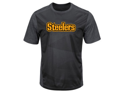 Pittsburgh Steelers Majestic NFL Men's Gridiron Synthetic T-Shirt
