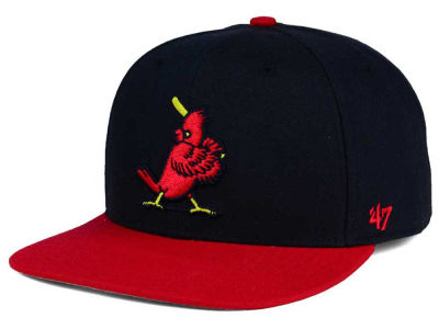 St. Louis Cardinals '47 MLB '47 Sure Shot 2 Tone Snapback Cap