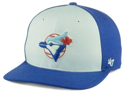 Toronto Blue Jays  47 MLB Sure Shot Accent Snapback Cap 4fcc3ac6e79d