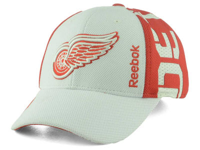 Detroit Red Wings Reebok 2016 NHL Draft Flex Cap