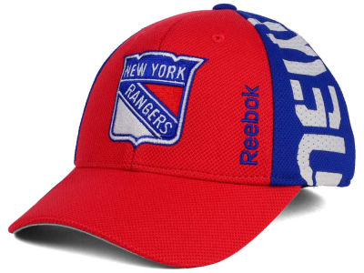 New York Rangers Reebok 2016 NHL Draft Flex Cap