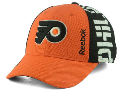 Philadelphia Flyers Reebok 2016 NHL Draft Flex Cap