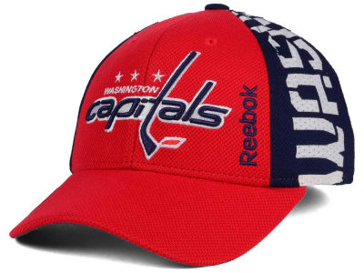 Washington Capitals Reebok 2016 NHL Draft Flex Cap