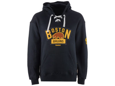 Boston Bruins Reebok 2016 NHL Men's  Winter Classic Team Logo Hoodie